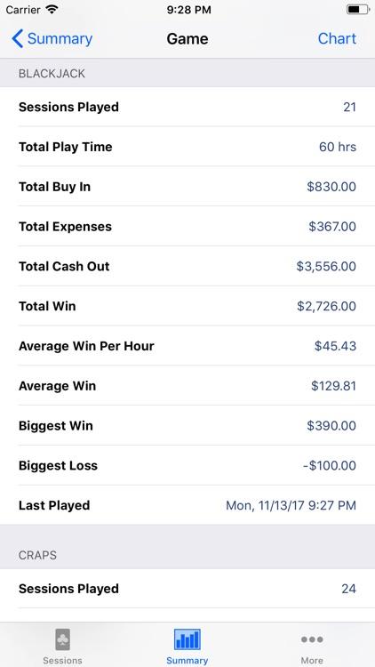 Poker Sheet screenshot-3