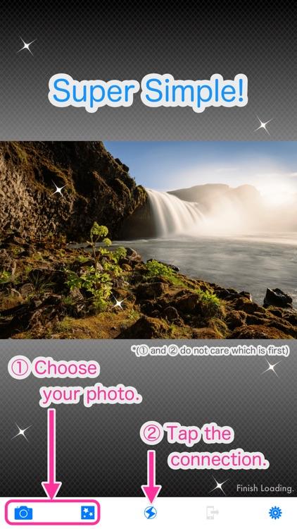 BlueTrans - send your photos!