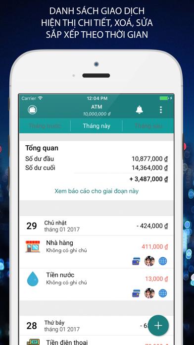 Money Helper -Quản Lý Chi Tiêu screenshot one