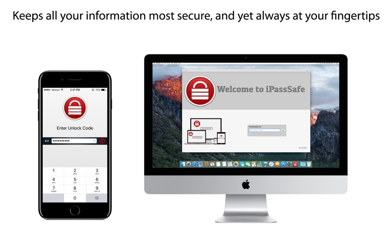 Screenshot #1 for iPassSafe - Password Safe