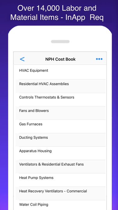 HVAC Pro Invoices & Estimates Screenshots
