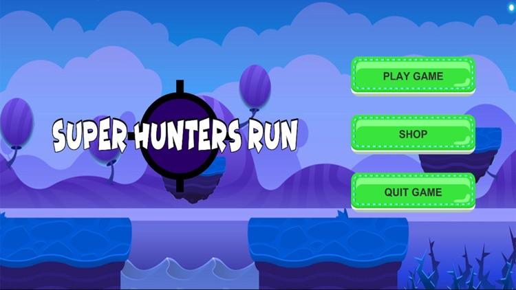 Super Hunters Run Shooting Pro
