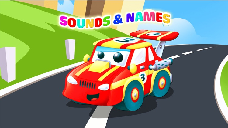 Toddler kids car games Boys 2+ screenshot-0