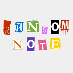 Ransom Note - Stickers for iMessage