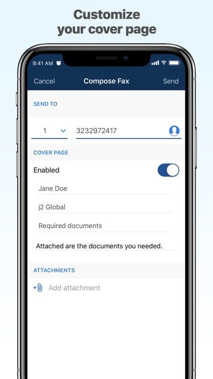 MyFax – Send & Receive a Fax screenshot-3