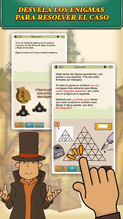 Screenshot for Layton: la villa misteriosa HD in Chile App Store