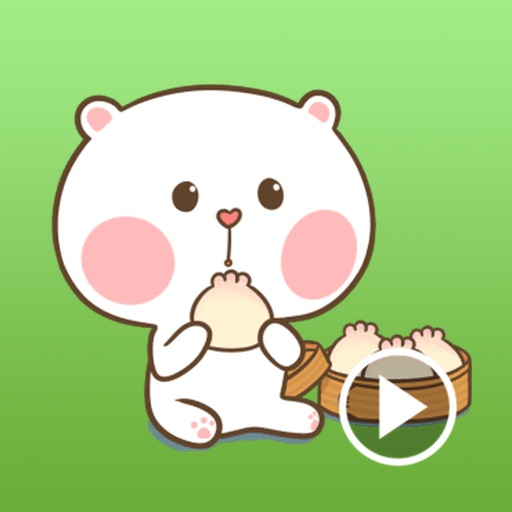 Masha The Puffy Bear Stickers