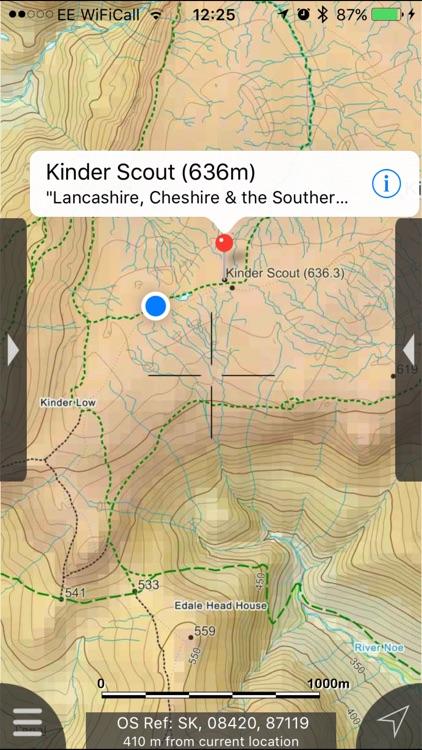 Peak District Maps Offline screenshot-4