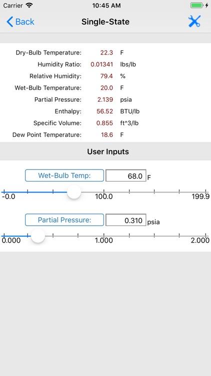 HVAC Psychrometric LT screenshot-9