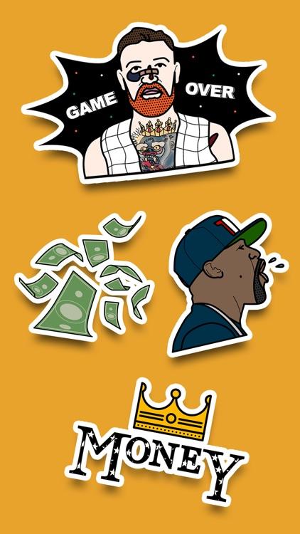 Money stickers fan pack