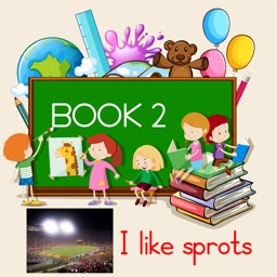 Picture Book 2 - I like sports