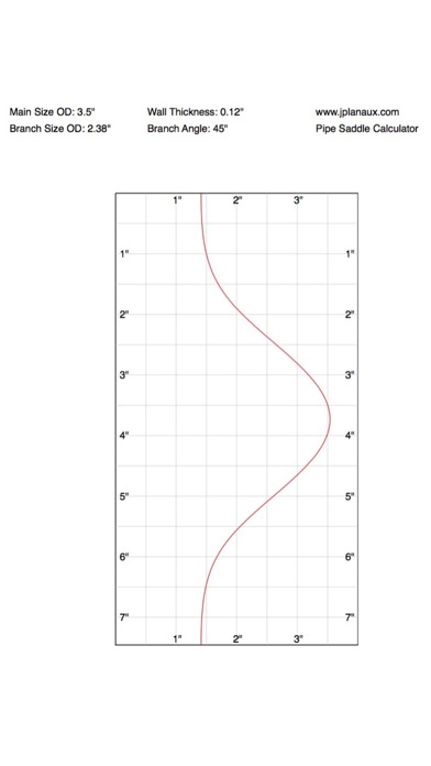 pipe saddle layout calculator
