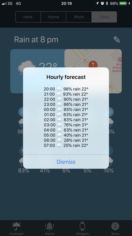 RainFace - Rain Alarms screenshot-5