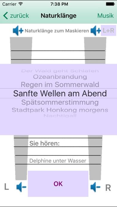 Screenshot for tinnitus help in Germany App Store