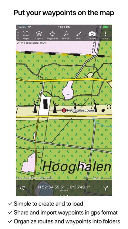 Topo GPS Netherlands screenshot-4