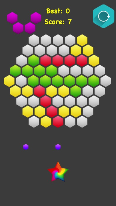 Hexagonal Merge screenshot 3