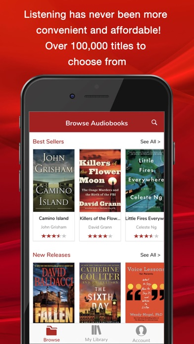 Audiobooks Now Audio Books review screenshots