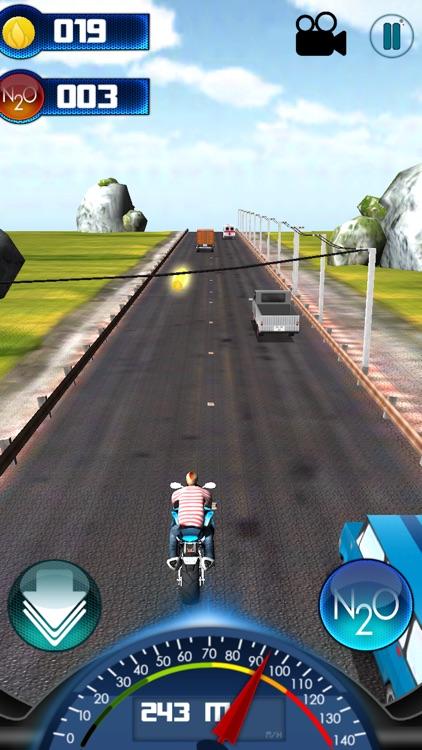 3D City Moto Racer screenshot-3