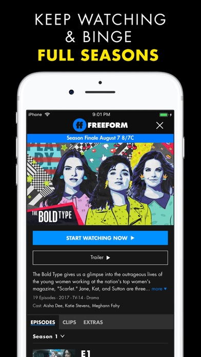 Freeform Tv review screenshots