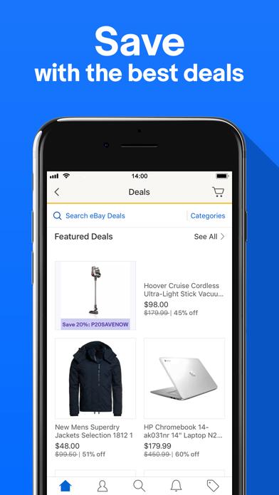 Screenshot 2 for eBay's iPhone app'