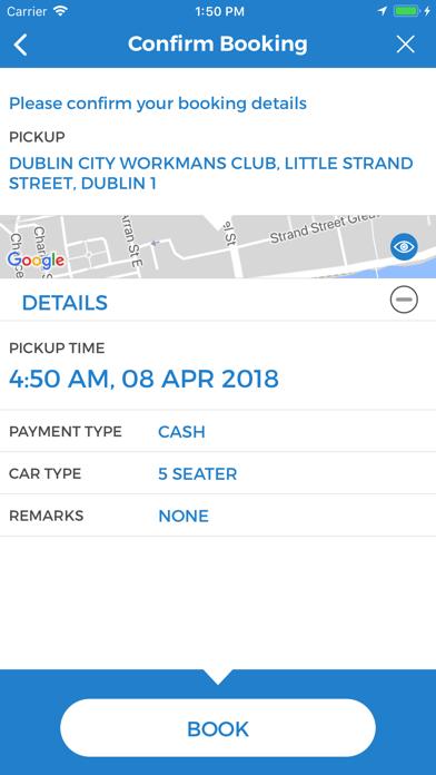 Dalkey Taxis screenshot four