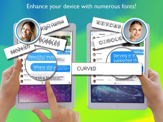Cool Font Keyboard Pro Screenshots