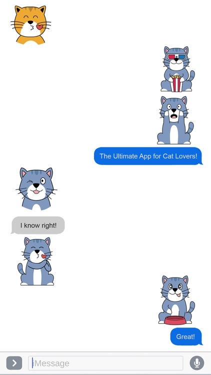 Cat Lovers Emojis and Stickers screenshot-3