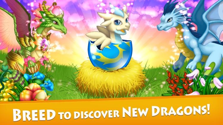 Dragon x Dragon: City Sim Game screenshot-3