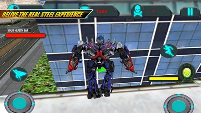 AUTO Robots Battle Alien screenshot 2