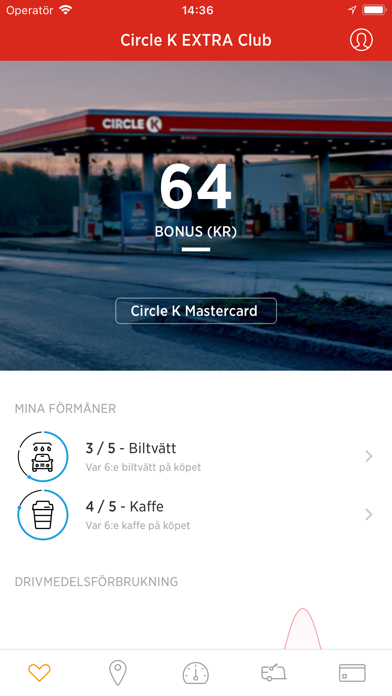 Screenshot for Circle K Europe in Sweden App Store