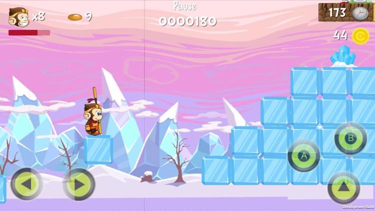 Monkey Hero Run