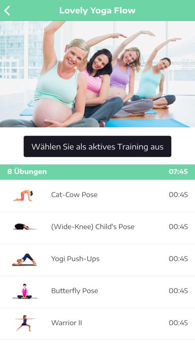 Yoga in der SchwangerschaftScreenshot von 3