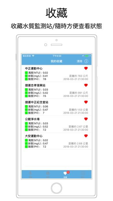 台北水質監測 screenshot 3