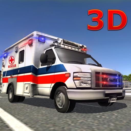 911 Спасание скорая имитатор