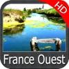 France Atlantic HD GPS chart