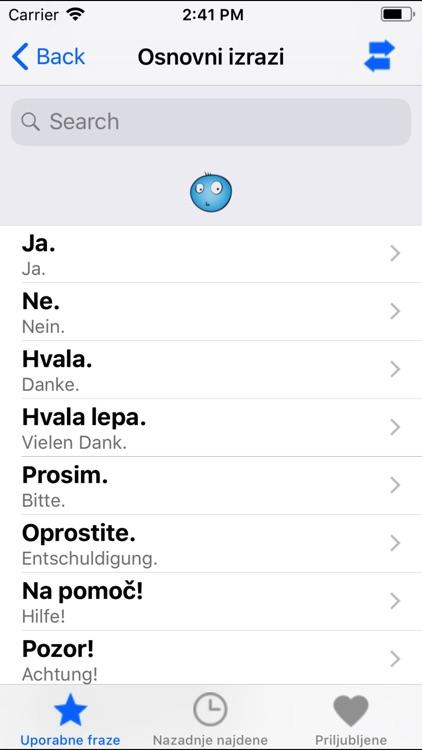 PortosDicty Phrasen Deu/Slo screenshot-4