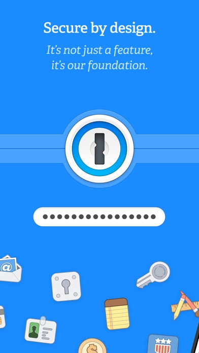 1Password - Password Manager Screenshot on iOS