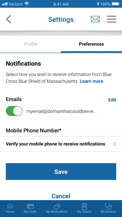 BCBSMA MyBlue Member App screenshot-3
