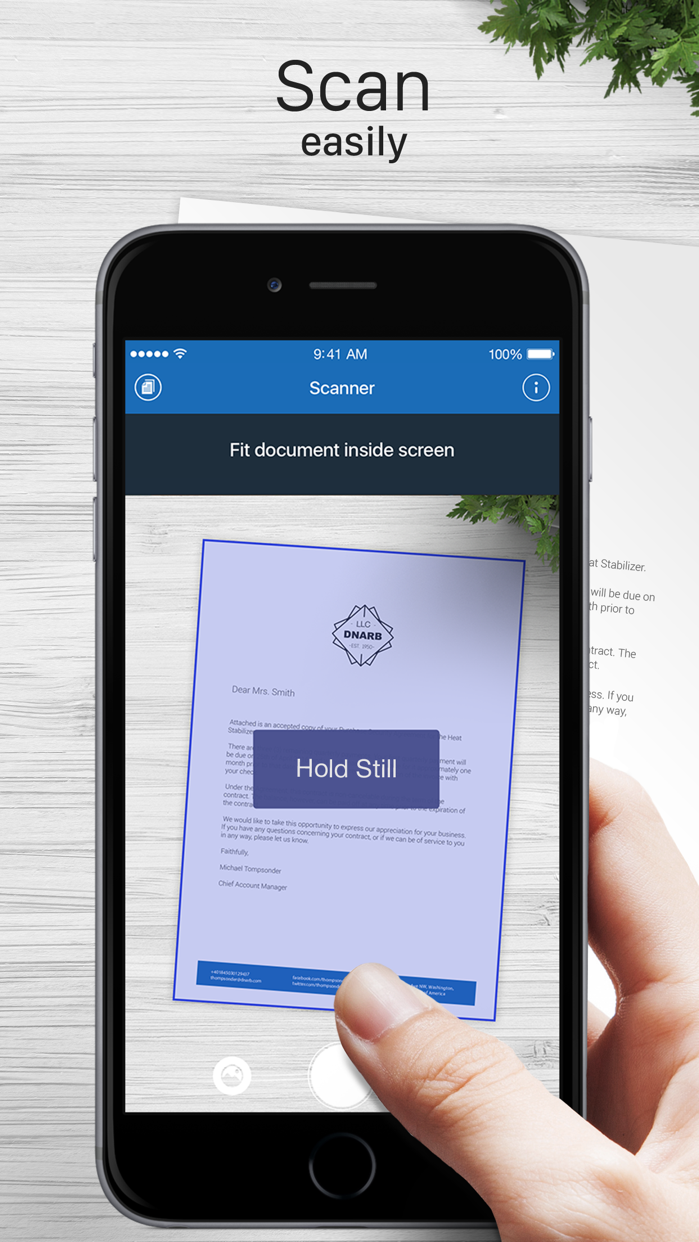 Scanner for Me: Scan documents Screenshot