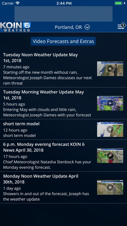 PDX Weather - KOIN Portland OR screenshot-3