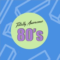 Totally Awesome 80's Stickers