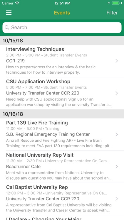 Crafton Hills College Mobile screenshot-4