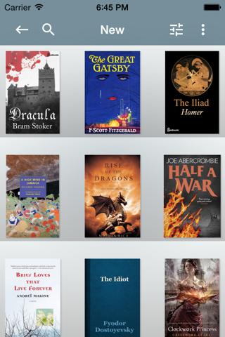 KyBook 2 Ebook Reader - náhled