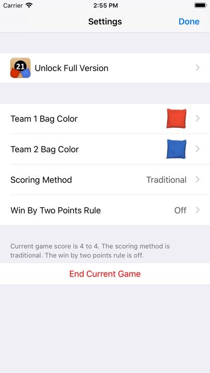 Cornhole Easy Score screenshot-3