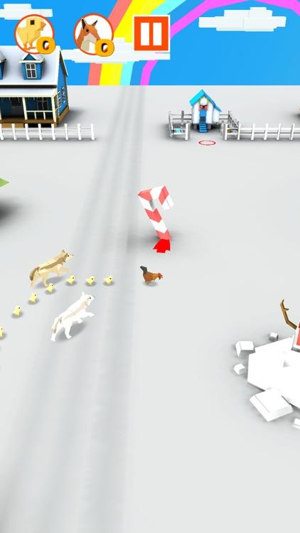 Speedy Chicken- The Egg Saver screenshot-3