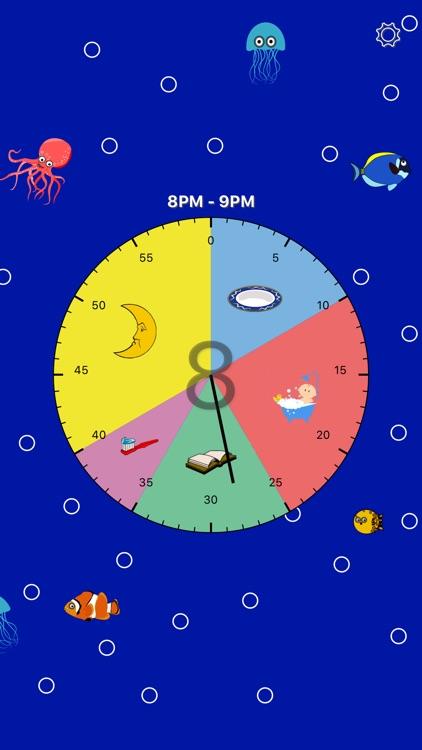Kids Activity Clock screenshot-4