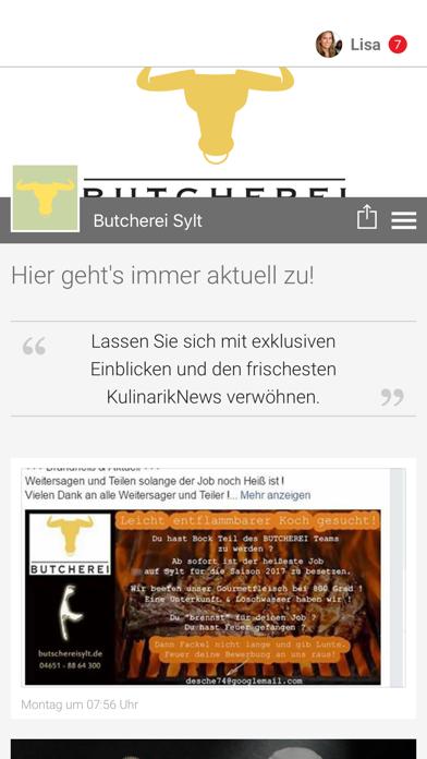 Butcherei Sylt screenshot 1