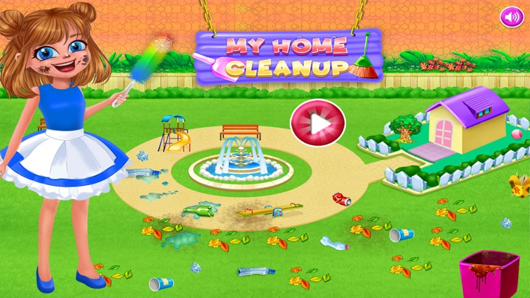 House Cleaning Game For Girls screenshot-0