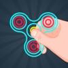 Fidgetスピナートップ:リラックスのためのストレスフリーゲームシミュレーター