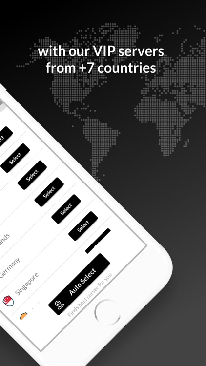 TurboVPN+ Wifi Proxy & Hotspot screenshot-3
